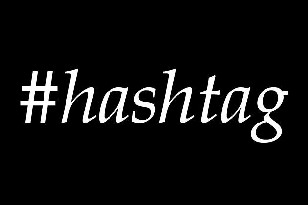 como usasr hashtags